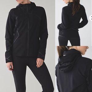 Lululemon Runaway Jacket In Black Sz 2
